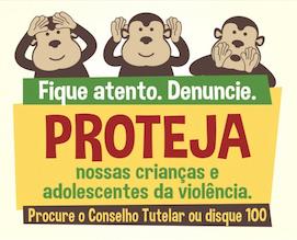 DENUNCIE: LIGUE PARA O DISQUE 100!