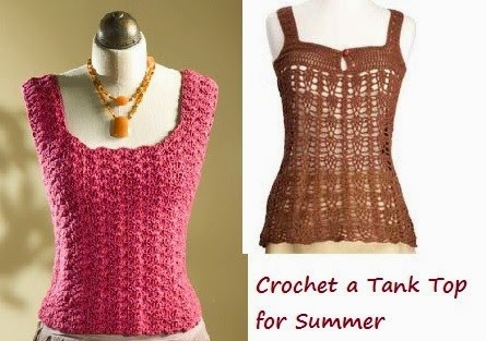 Free Crochet Toddler Tank Top Pattern : Craftdrawer Crafts: Learn how to crochet a tank top with ...