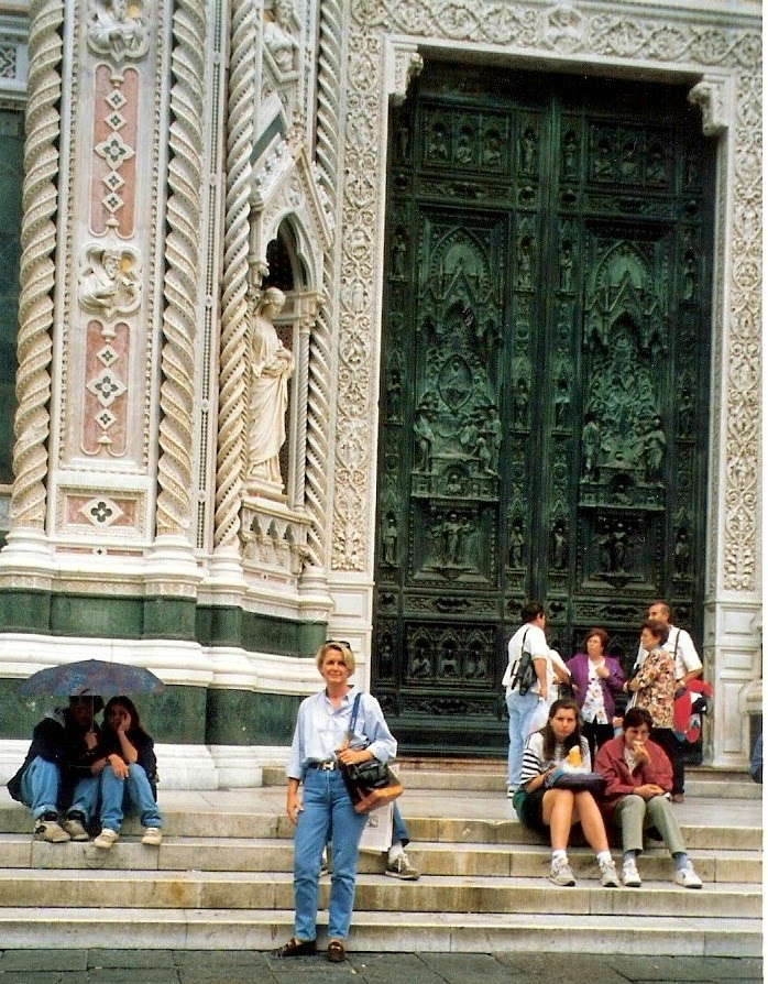 Baptistery Doors. Florence.Italy