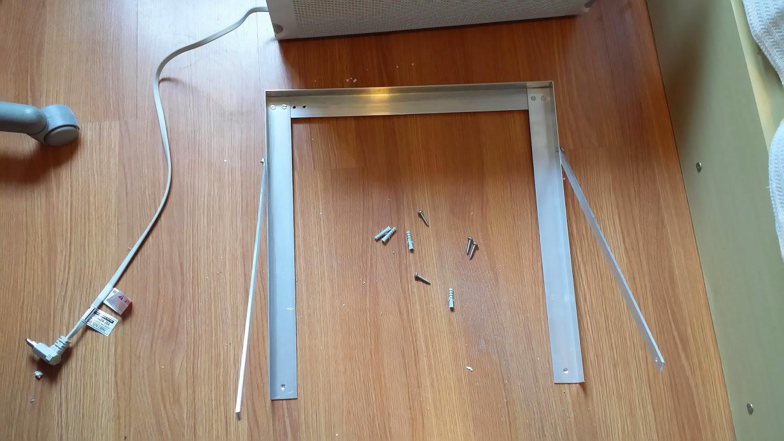 #673C23  do Gilson Eletricista: Como instalar um ar condicionado de janela 1456 Suporte Ar Condicionado Janela Aluminio