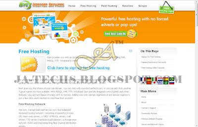 Best & Top 5 Web Hosting - Byethost