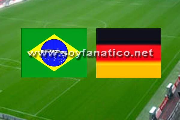 Brasil vs Alemania Semifinales 2014