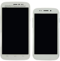 Micromax Canvas Doodle 2 alongside Canvas 4