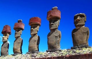 Misteri Patung Moai, Chili