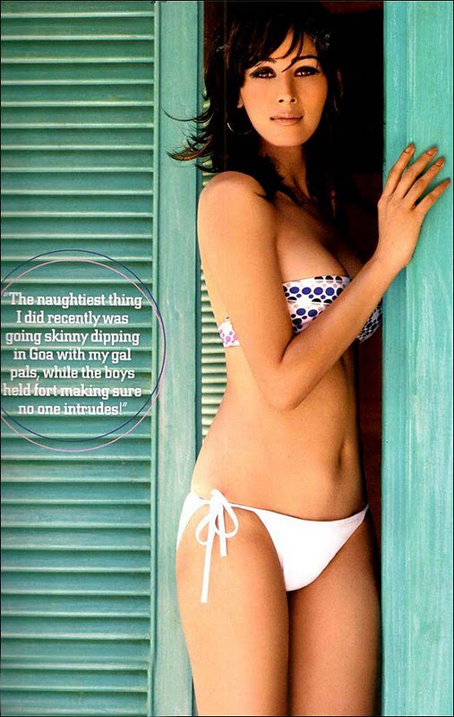 Miss Pune Shruti Agarwal hot Bikini On Maxim magazine