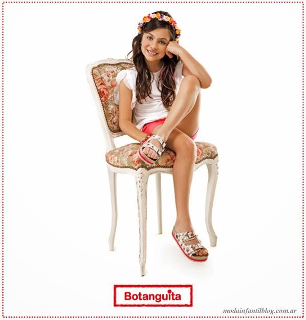 botanguita verano 2014 Calzado infantil 2014 moda