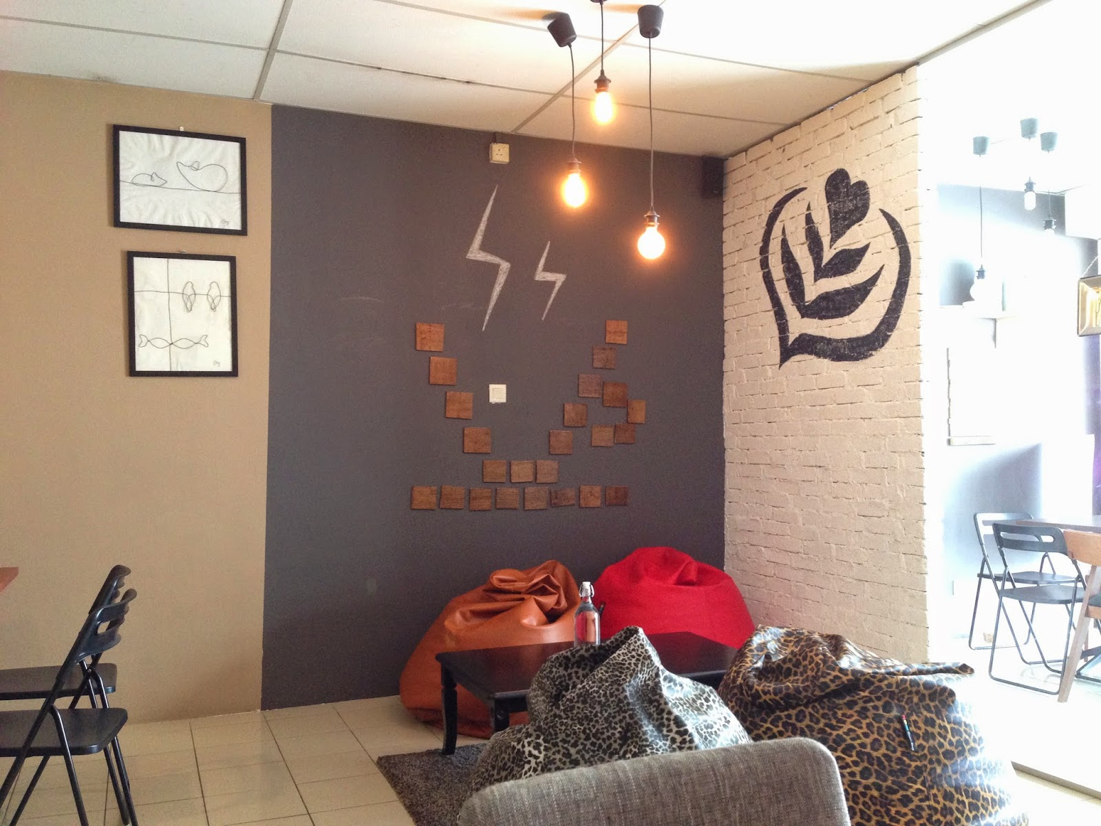 Coffee O'Clock Dataran Sunway Interior Decoration