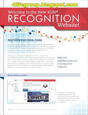 New 4Life Recognition Website