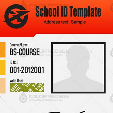 id template in psd