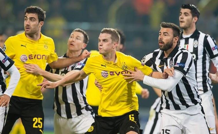 Borussia Dortmund 0-3 Juventus (Agg 1-5)