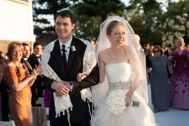 The wedding of Chelsea Clinton and Marc Mezvinsky