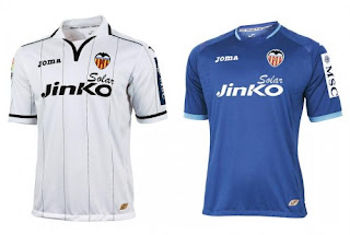 Valencia Cf uniform 2012 - 2013