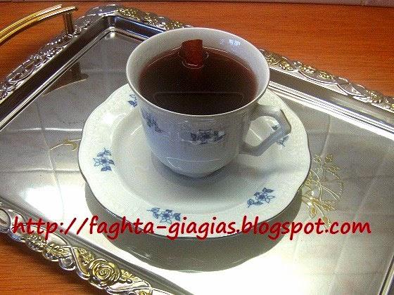 Ζεστό κρασί με μπαχαρικά - Τα φαγητά της γιαγιάς