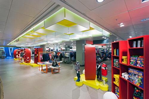 John Lewis Kids Store Design