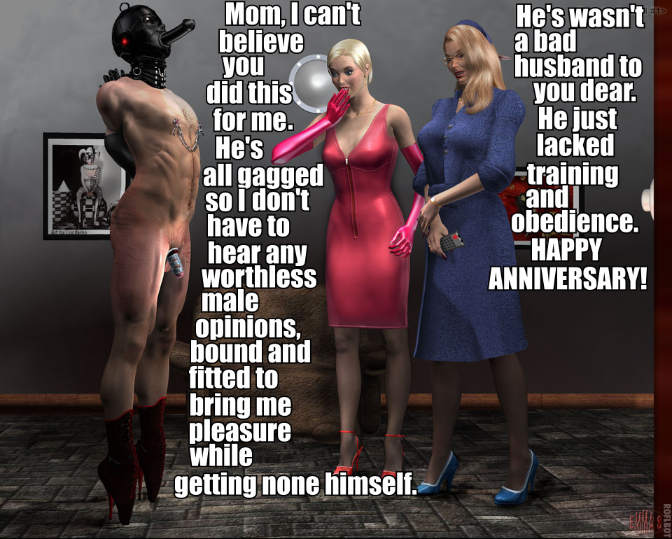Female domination husband training