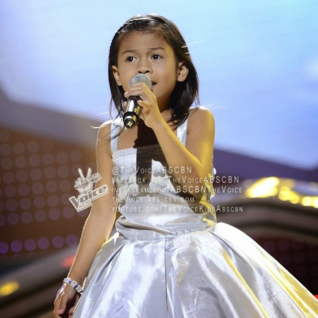 Lyca from Team Sarah The Voice Kids Philippines