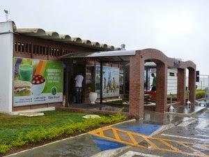 Aeroporto de Vitória da Conquista, no sudoeste baiano (Foto: Anderson Oliveira / Blog do Anderson)