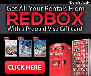 Redbox DVD rentals