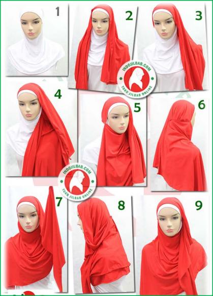 Tips Memakai Jilbab Shawl Pashmina Rumbai