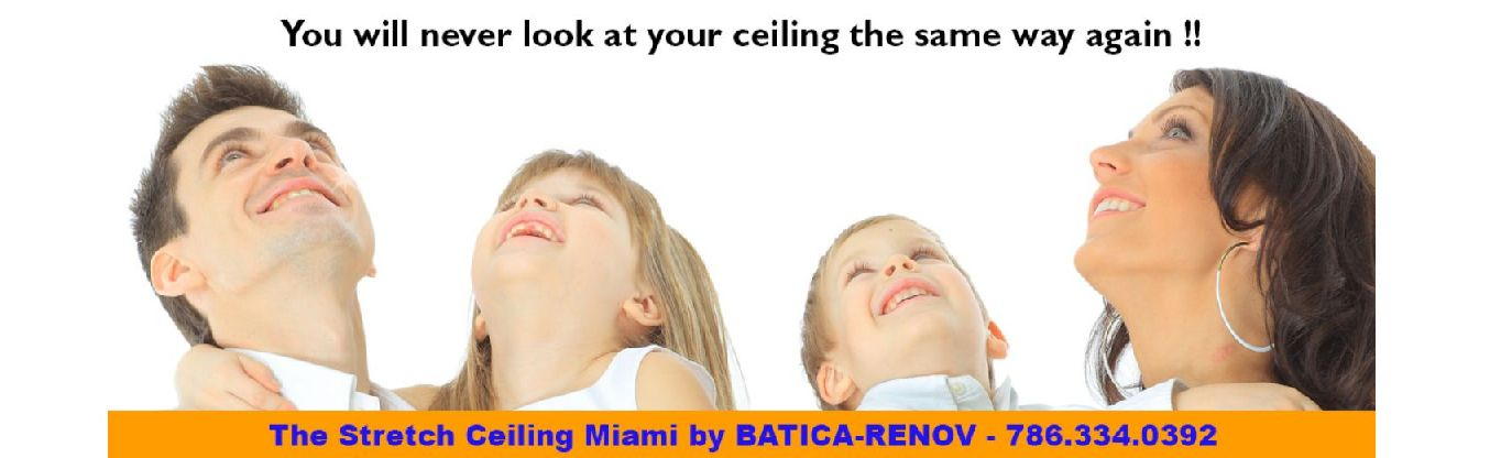 Stretch Ceiling Miami
