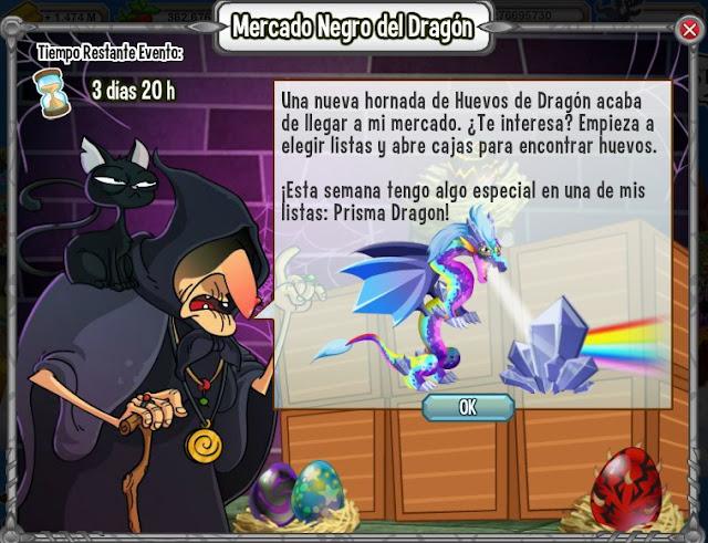 dragon prisma gran premio del mercado negro del dragon