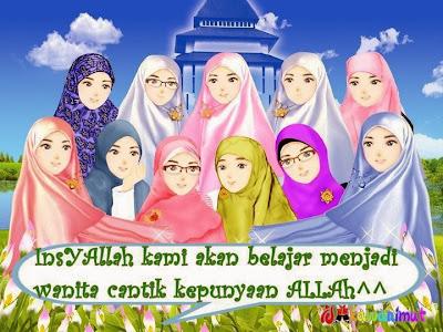 4 Wanita Penghuni  Surga dan 4 Wanita Penghuni Neraka