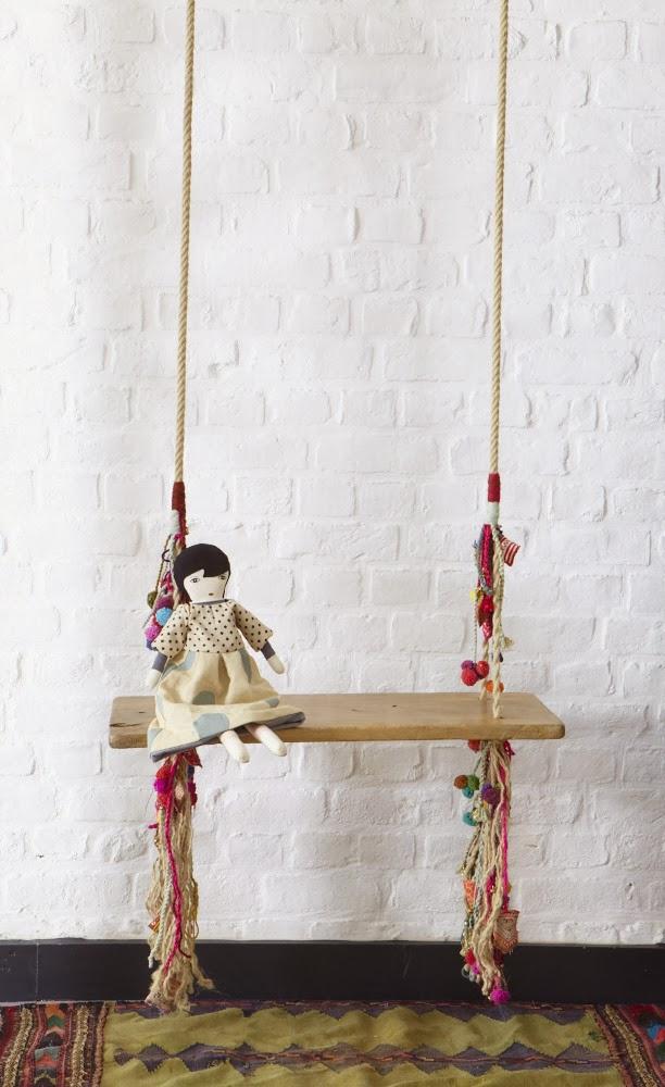 Les Petits Bohemes indoor swing
