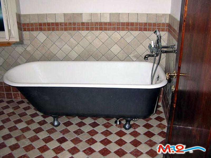 Rismaltatura vasche da bagno | M.2 Trasformazione vasca in doccia ...