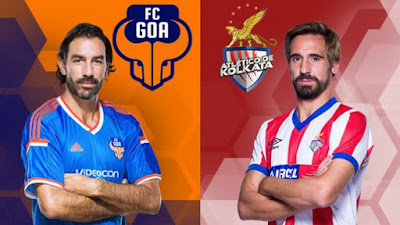 ISL 2017 Match 5; FC Goa Vs Atletico de Kolkata Live Streaming