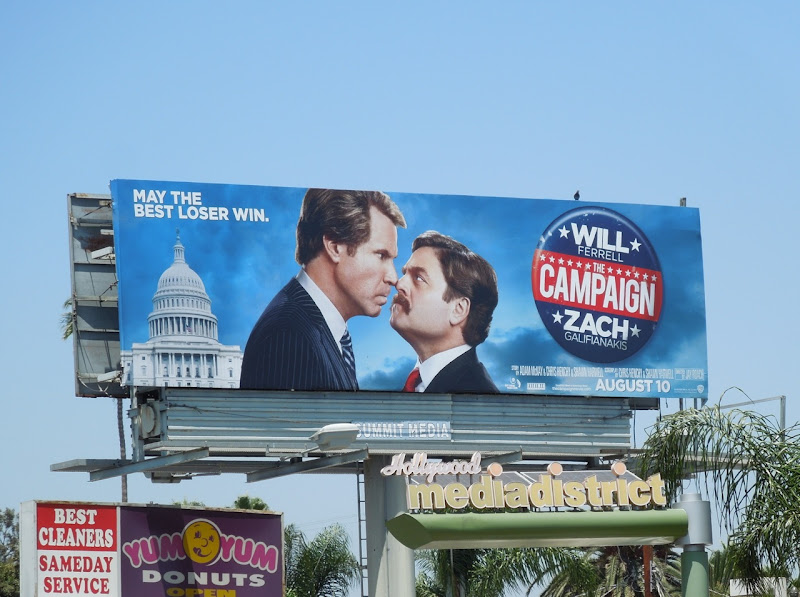 The Campaign billboard