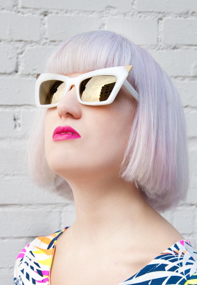 Alexander Wang, Linda Farrow, sunglasses