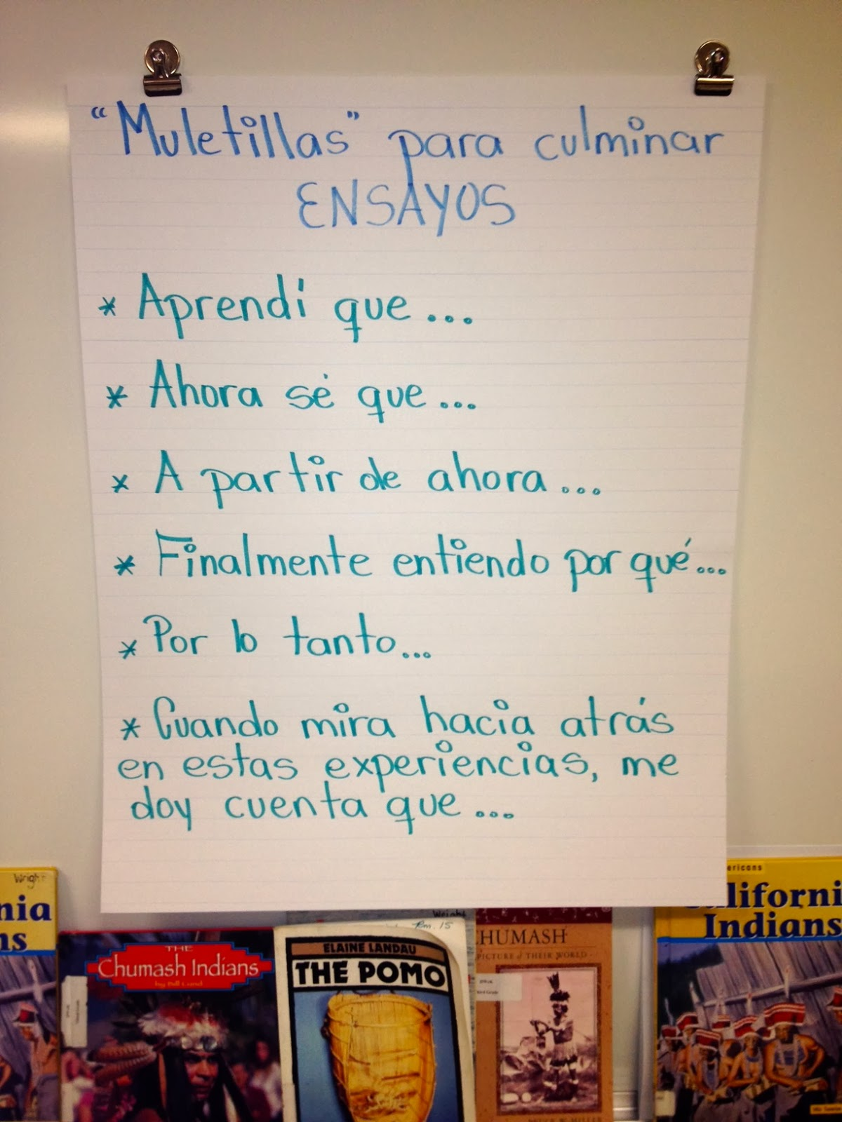 good phrases for essays in spanish