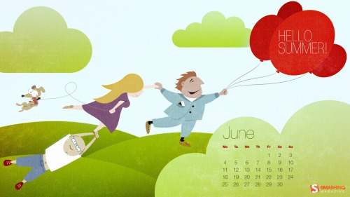 June Summer Desktop