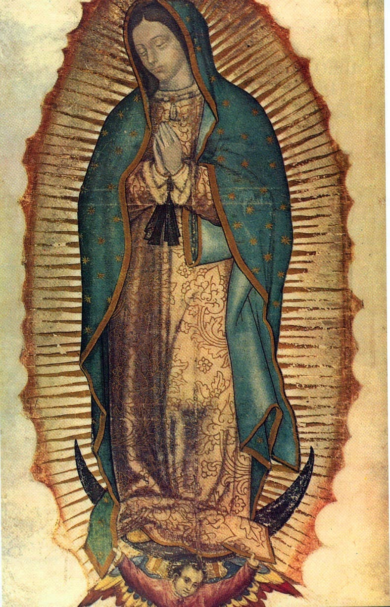 Virgen de Guadalupe   12  Diciembre
