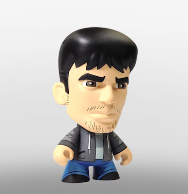 "San Diego Comic-Con 2015 Exclusive Skybound Minis 8"" Vinyl Figures by Scott Tolleson - Outcast by Kirkman and Azaceta's Kyle Barnes"