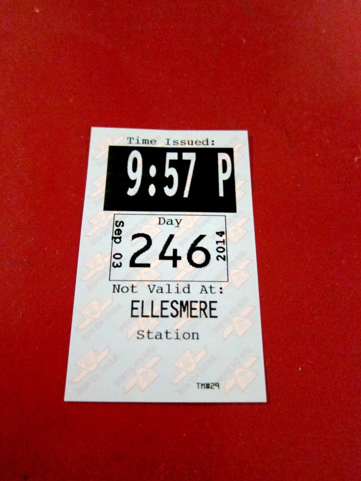 Ellesmere station transfer