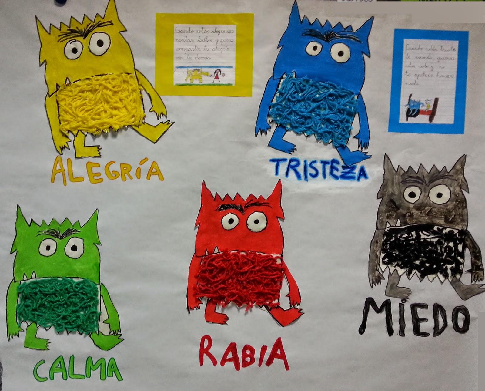 CRECIENDO FELICES: LA CLASE DE LOS MONSTRUOS DE COLORES