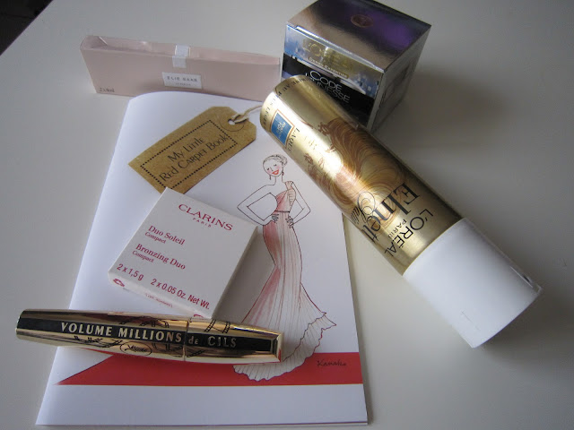 my little red carpet box produits