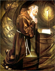 St. Padre Pio, Pray for all who come here,