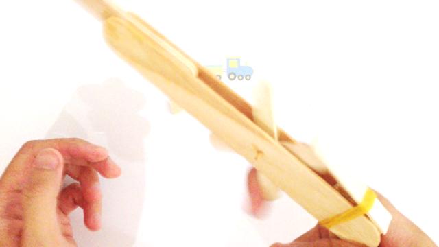 Homemade Click Clack Toy Gun 2