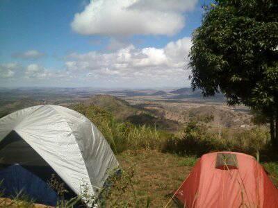 Temos área de Camping