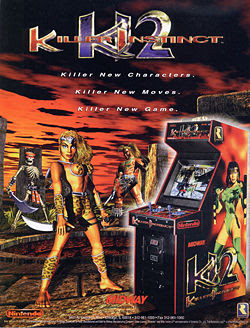 Killer Instinct 2 arcade flyer