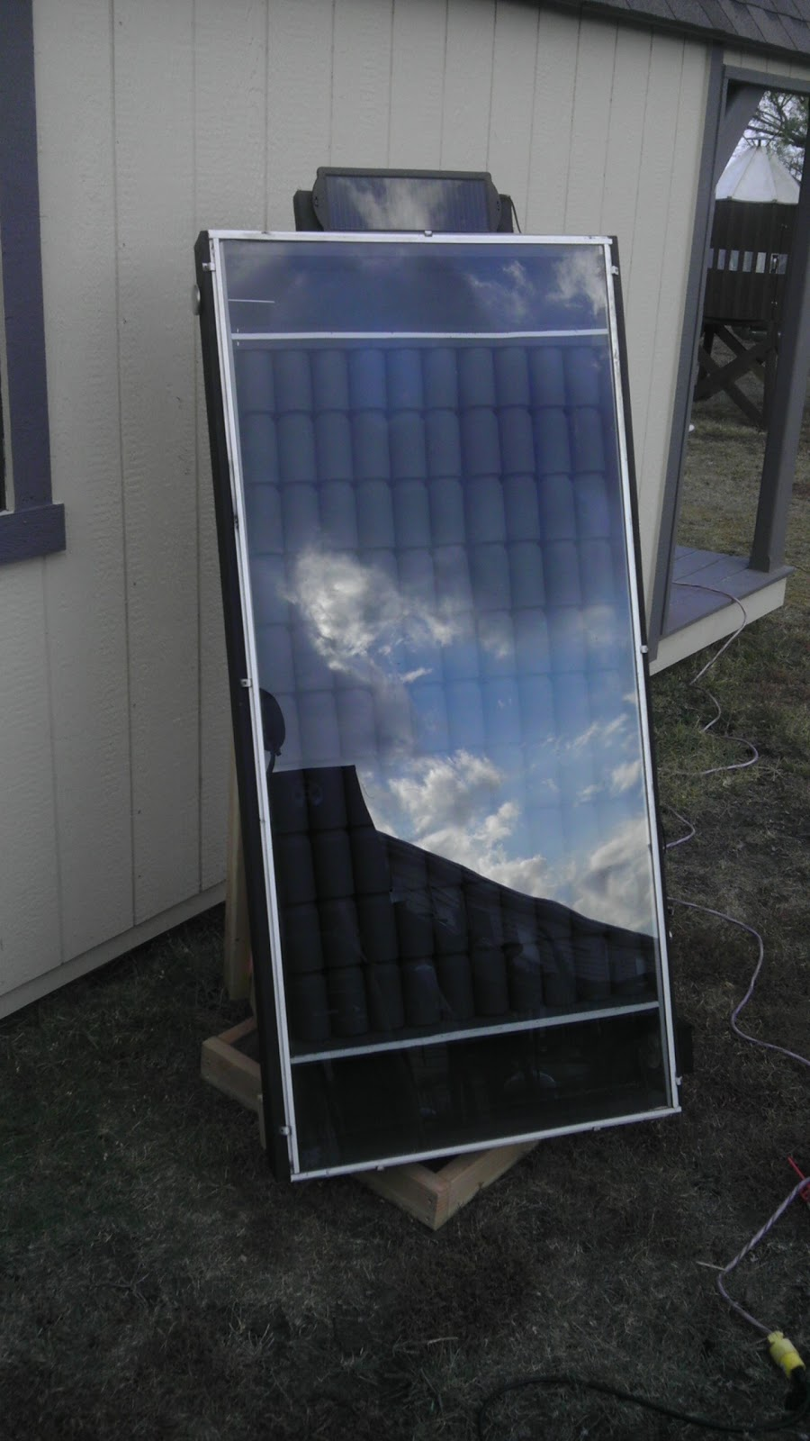 modern day redneck solar beer can heater update