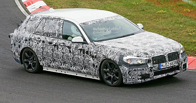 2016 BMW 5 Series Touring Spy