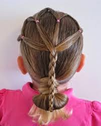 kids hairstyle with beads