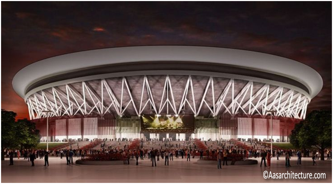 The top most looked up in Google search is the Philippine Arena