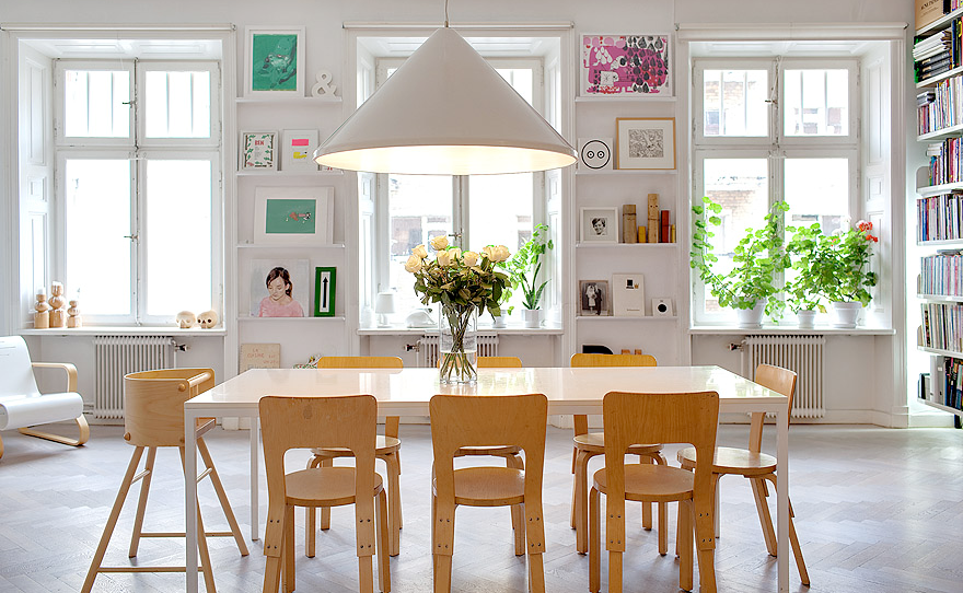 How to design dining room