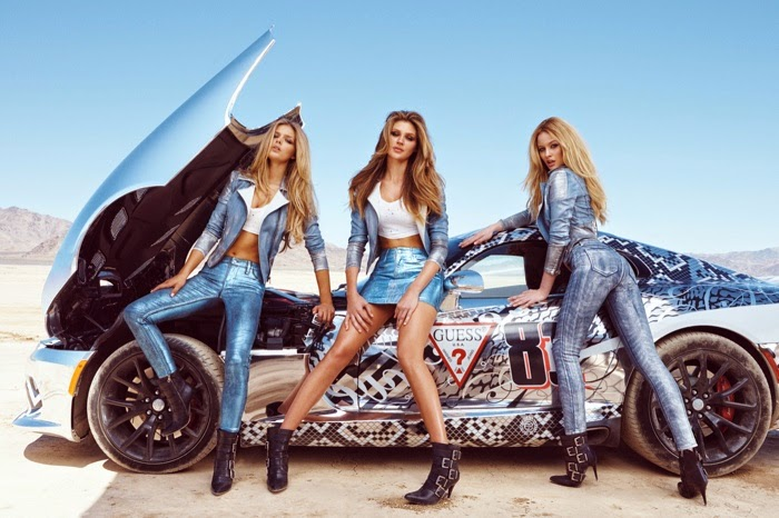Guess teams with Gumball 3000 for a sultry campaign