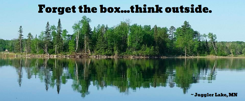 Forget the box...think outside.