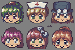 NPC Girls from Terraria (Fanart)